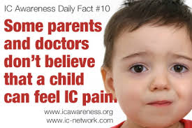 Challenge Kid Gets Herpes Ic Awareness Daily Fact 10 Children With Ic Bps Many