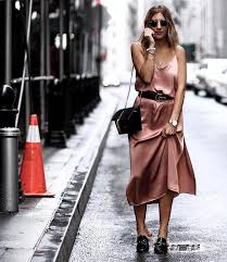 how to wear slip dress in different ways be modish