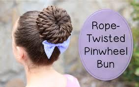 twisted pinwheel bun prom hairstyles youtube