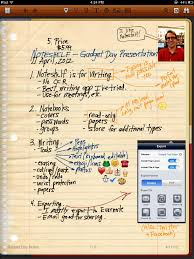 Writing On Graph Paper Noteshelf Handwriting On The Ipad Apps On Tap