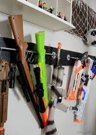 nerf bedroom boys room nerf storage oranization pinterest nerf storage