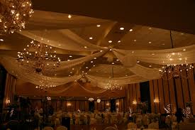 ceiling draping for weddings how to drape a ceiling for a wedding