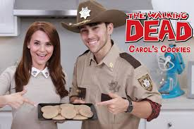 Nerdy Nummies Halloween Cakes Walking Dead Carols Cookies Ft Max Schneider Nerdy Nummies Youtube
