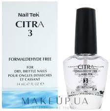 makeup укрепляющее средство для сухих и ломких ногтей nail tek