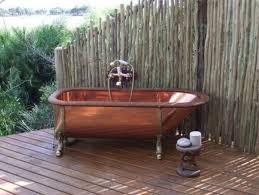 Outdoor Bathtubs Ideas Wonderful Tips For Your Bamboo Themed Bathroom Decor Around The