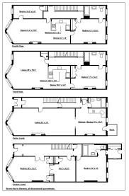 Nyc Brownstone Floor Plans 844 Union Street Brooklyn New York 3 100 000 Brown Harris