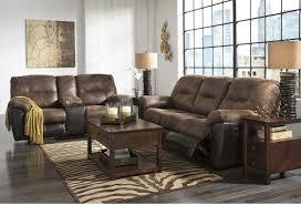 reclining sofa and loveseat set follett reclining sofa loveseat set 65202 ashley