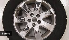 alloy wheel repair u0026 refinishing st louis mo dent wizard