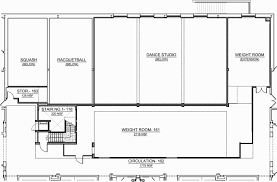 Dance Studio Floor Plan Goucher