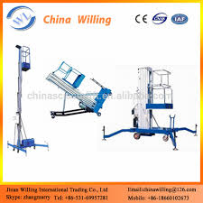 500kg manual hydraulic lift trolley mini scissor lift platform