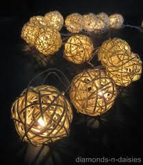 where to buy cheap fairy lights 20 warm white wicker rattan ball led string fairy lights lanterns