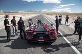 koenigsegg highway koenigsegg came to nevada to beat records and did u2014 the inside