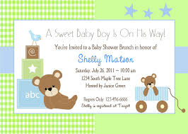 invitation to brunch wording free baby boy shower invitations templates baby boy shower