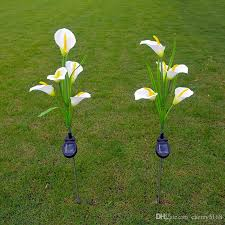 solar lights 2018 calla lilies solar lights outdoor garden solar lawn