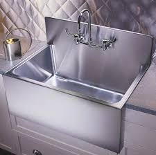 kitchen sink backsplash likeable kitchen sinks large farmhouse sink with steel backsplash