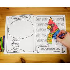 existential coloring book accoutrements archie mcphee wholesale