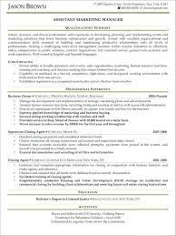 marketing manager resume exles marketing manager resume template micxikine me
