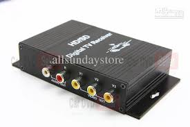 Tuner Tv car digital tv tuner receiver box dvb t mpeg2 mpeg4 h 264 automobile