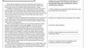 reading comprehension worksheets 5th grade science worksheets