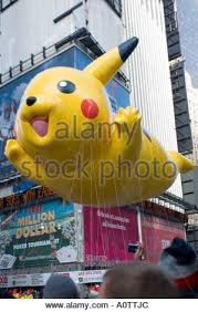 pikachu balloon in the 2005 macy s thanksgiving day parade
