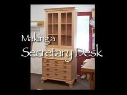 Furniture Secretary Desk Secretary Desk Building Process By Doucette And Wolfe Furniture