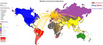 Gardening Zones Uk - worldwide research collaboration mapped out u2013 mendeley blog