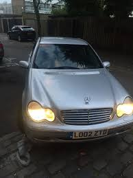 mercedes benz silver lightning mercedes c class 2002 silver in whitechapel london gumtree