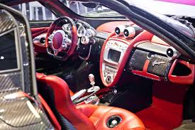pagani interior pagani huayra clear carbon edition