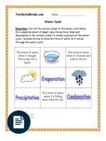 3rd grade weather worksheet