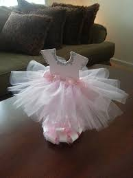 tutu centerpieces for baby shower sided light pink tutu dress centerpiece silver