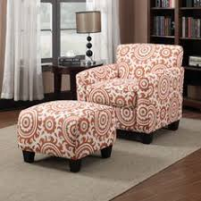 Overstock Armchair The Portfolio Home Furnishings Hani Rounded Arm Transitional Wing