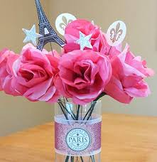Paris Centerpieces Diy Centerpiece On A Budget Sparkler