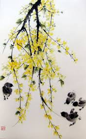 Japanese Flowers Paintings - best 25 japanese watercolor ideas on pinterest traditional