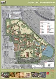 Oregon Zoo Map by Bramble Park Zoo Master Plan U2014 Elm Ervin Lovett Miller