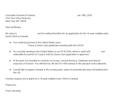 Green Card Resume Singapore Visa Covering Letter Sample Canada Tourist Visa For