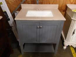 home decorator vanity home decorators collection cranbury 30 in vanity in cool gray