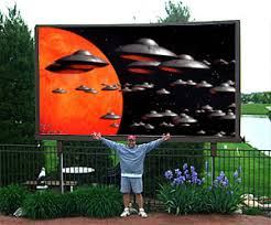 Backyard Outdoor Theater Backyard Home Theater This Is A Cgi I Like The Outdoor Screen