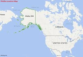 usa map alaska where is alaska state where is alaska located in the us map