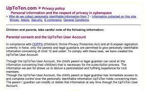 coppa children u0027s online privacy protection act termsfeed