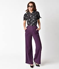 women u0027s 1940s pants styles history and buying guide