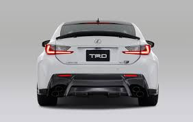 lexus rc 350 spoiler trd introduces circuit club sports parts for lexus rc f lexus