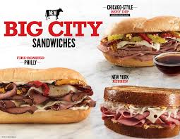 arby u0027s brings iconic big city sandwiches to restaurants across the
