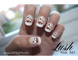 hello thanksgiving nail water transfer decal