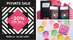 does sephora have black friday sales sephora singapore private sale 20 off for black card members 21