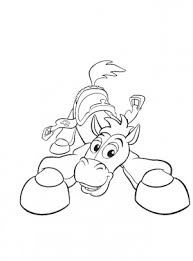 jessie bullseye toy story coloring pages free coloring pages