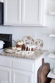 Simple White Dining Room Honeysuckle Life Fall Kitchen Decor Pumpkin Spice Cake With Cream Cheese Frosting