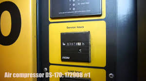 air compressor ds 170 172908 1 youtube