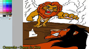 lion king coloring pages simba scar 159