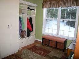 mudroom ideas laundry room traditional with flush mount sconce