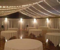 Ceiling Draping For Weddings Diy In Case It Rains And We Need A Tarp We Can Put Twinkle Lights On